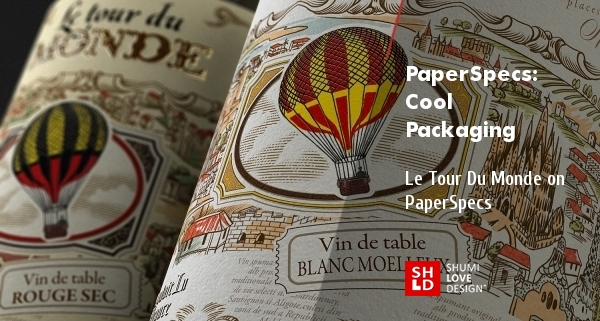 Cool Packaging: Le Tour Du Monde Label