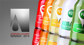 Silver A' Design Award in Beverage Design category, 2013 - 2014