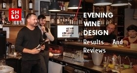 Evening. Wine. Design.