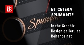 Et Cetera Spumante in the curated gallery at Behance