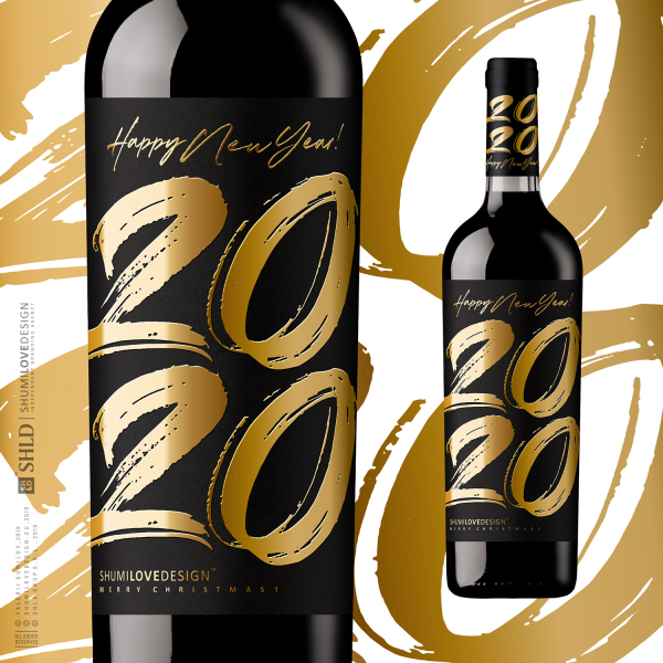 2020 HAPPY NEW YEAR BRANDING